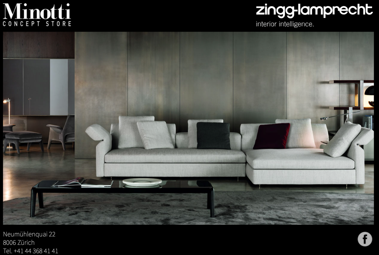 Minotti Concept Store